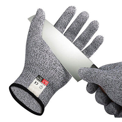 Cut Resistant Gloves Stab Proof Garden Work Kitchen Adults Children Food Grade