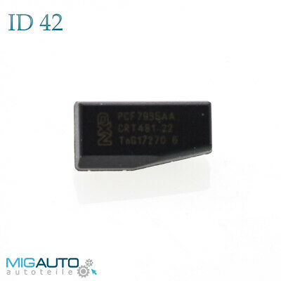 Transponder ID42  Chip VW Seat Ford PCF7935 Auto Wegfahrsperre