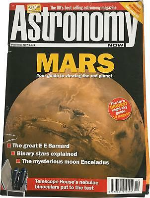PRE-OWNED Astronomy Now 20th Anniversary December 2007 Magazine DT194
