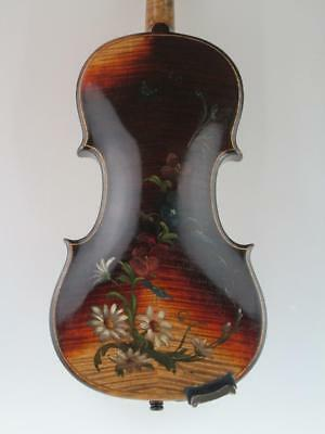 Antique 19th Century Russian 4/4 Violin By Rigart Rubus St.Petersburg Circa 1850