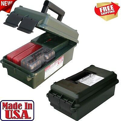 Ammo Can Military MTM 30 Caliber Army Storage Box Container Ammunition