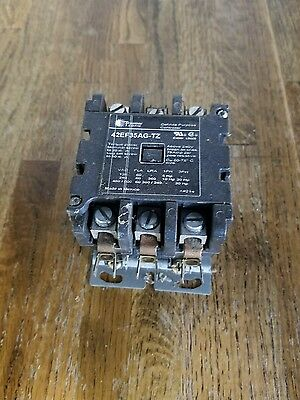 Siemens 42CF35AG DP Contactor 40 Amp, 3 Pole, 208 / 240 V. Coil 50 Amp Resistive