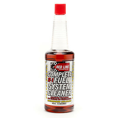 Red Line SI-1 Complete Fuel System Cleaner (4 Pack) RED-60103