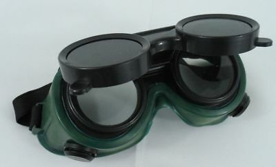 NEW Steampunk Goggles Vintage Style Welding Flip Up Style Glasses Costume