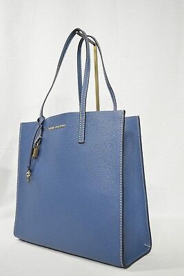 22a0a8dafc70 MARC By Marc Jacobs M0012669 The Grind East West Leather Shopper Tote in  Blue