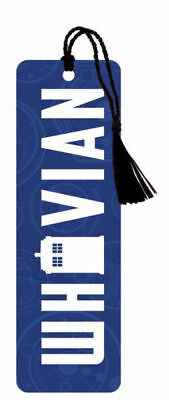 Dr. Who, Whovian Bookmarks, New with Tags, BBC,Christmas Gift (B)
