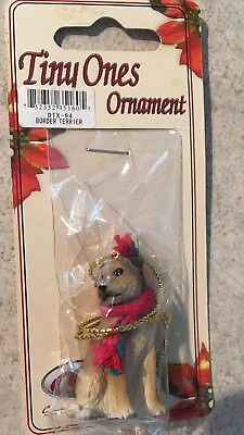 Border Terrier Ornament Mini Dog Tiny Ones by Conversation Concepts New