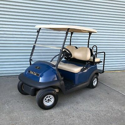 2014 Club Car PRECEDENT 4 Four Seat Resort 48V Electric Golf Cart Buggy Buggie