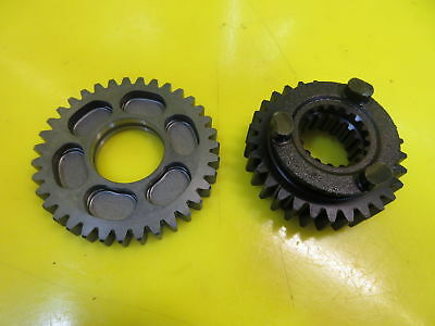 New Oem Yamaha Yzf R1 Yzfr1 2Nd & 6Th Gear Transmission Trans Wheel Set 98-03