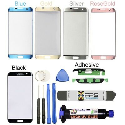 Original Front Glass Lens Touch Screen Replace Samsung GALAXY S7 Edge G935