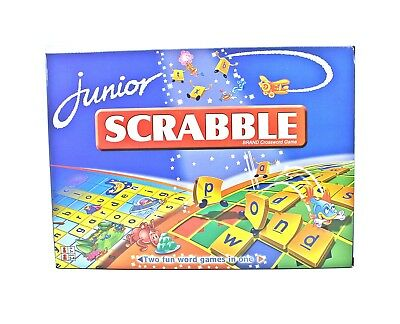 Scrabble Board Game Scrabble Junior Family Game Kid Educational AU stock