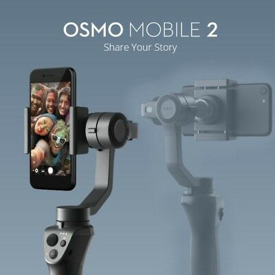 New DJI Osmo 2 Mobile Handheld Gimbal Stabiliser for Smartphones iPhone Samsung