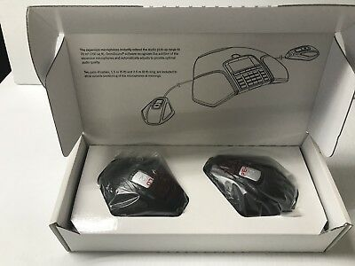 *BRAND NEW* Pair of Avaya B100 Series Expansion Microphones With Cables
