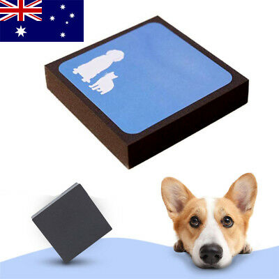 AU Reusable Pets Dog Cat Dust Fur Hair Remover Sponge Pet Hair Cleaner Brush