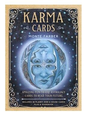 Tarot Oracle Cards Karma Cards Astrology Monte Farber New in box