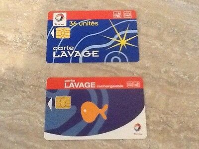 Total  2 Cartes De Lavage