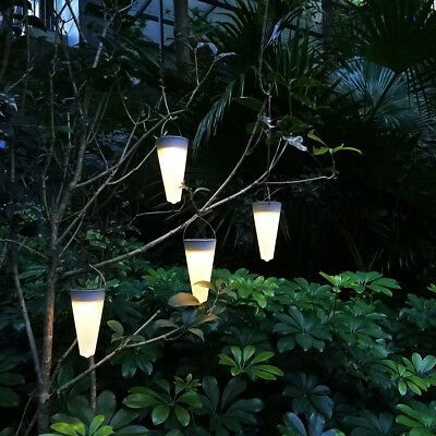 Lot of Outdoor Solar Powered LED Post Light Garden Lawn Tree Hanging Lamp RGBW