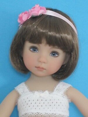 "Doll wig for Little Darling doll 13"" Dianna Effner-brown 7/8""(18/19cm)"