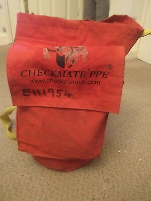 Checkmate PED5 - personal evacuation device - Kit - Rope - Descender - Bag