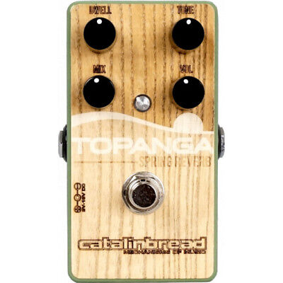 Catalinbread Topanga Spring Reverb - Special Edition Woody