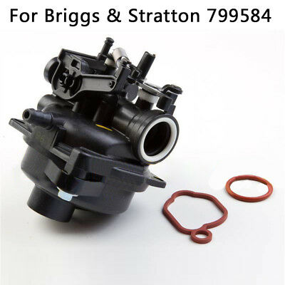 1pcs useful Carburetor +2pcs Gaskets Replacement for Briggs & Stratton 799584