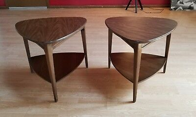 2 VINTAGE Mid Century Danish Modern Mersman End Tables Set of 2