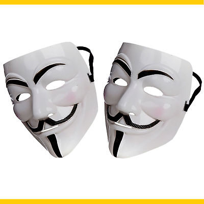Ufficiale Anonymous Hacker Protest V per Vendetta Movie Guy Fawkes Mask!