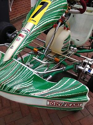 2014 Tonykart with Rotax max senior engine / OTK front brakes fitted