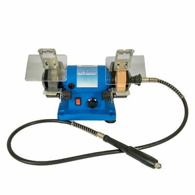 Mini Bench Grinder 120W Variable Speed With Flexi-Drive Shaft - Pro-Max