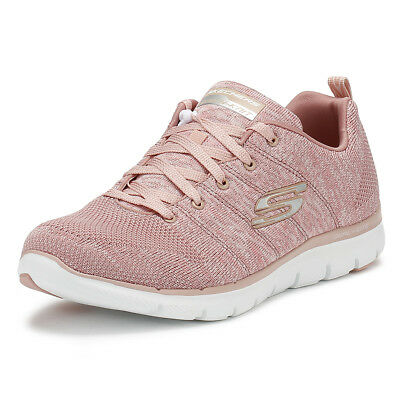 6bc39b2a034a Skechers Womens Trainers Rose Flex Appeal 2.0 High Energy Ladies Running  Shoes