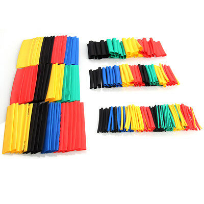 328Pc Heat Shrink Tubing Tube Sleeve Kit Car Assorted Electrical Cable Wire Wrap