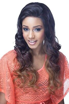 Cherish Lace Front Long Wavy HAIR Wig - Chanelle