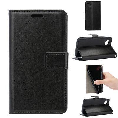 For Wiko Freddy/U Feel Prime Flip Wallet  Card PU Leather Skin Case Stand Cover