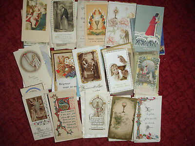 Lot 150 images pieuses Christianisme