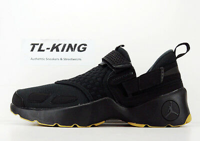 Nike Air Jordan Trunner LX Black Anthracite Gum Yellow 897992-021 Msrp $120 FA