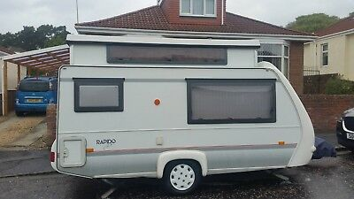 Rapido Club 32T Caravan 2 Berth