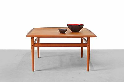 Coffee table GRETE JALK Teak Couchtisch GLOSTRUP 60er 60s Danish Modern Tisch