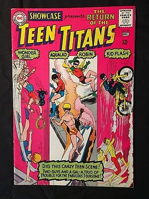 Showcase #59 F+ 3Rd App Of The Teen Titans