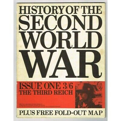 Purnell's History of the Second World War Magazines Vol.1 No.1 1966 MBox3299/E T
