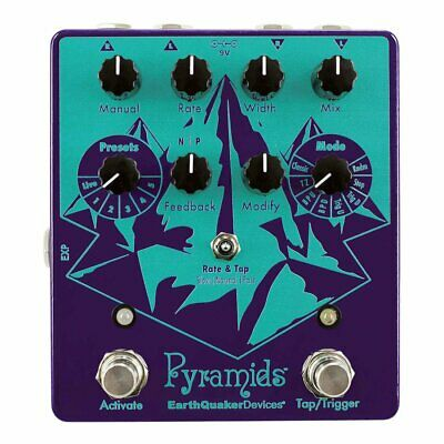 Earthquaker Devices Pyramids™ Stereo Flanging Device