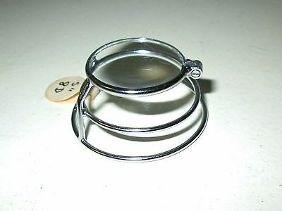 Vintage Medical Loupe Jeweler Magnifying Glass Retro Rockabilly Steampunk Old