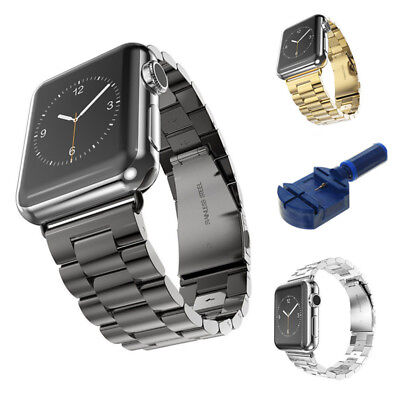 Stainless Steel Bracelet iWatch Band Strap For Apple Watch Series 3 2 1 38/42MM