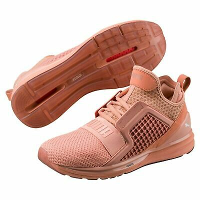190503-04  Mens Puma Ignite Limitless Weave Running Sneaker - Muted Clay cdd609e84
