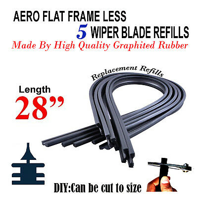 ADA61-624 Twin Box Set of Front Frameless Flat Aero Wiper Blades HQ Automotive