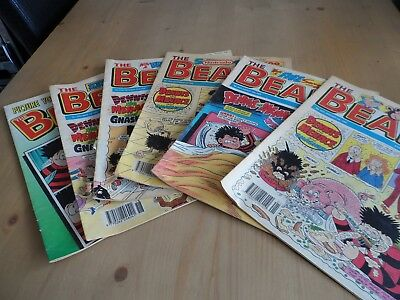 Job lot of Old Vintage COMICS The BEANO  & Buster from 1990's