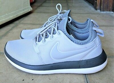 9b22307643ab1 WOMEN NIKE ROSHE Two Wolf Grey Size US8.5 UK6 -  33.00