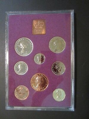 1970 Coinage of Great Britain & Northern Ireland Proof Set w/Case & Paperwork