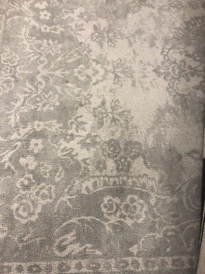 "New Pottery Barn Kids Monique Lhuillier Something Blue 3"" x 5"" Wool Rug~Gray~"