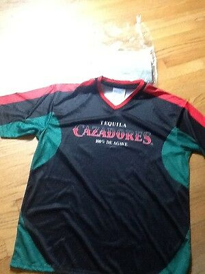 Tequila CAZADORES Soccer Futbol Jersey #22 SHIRT-ONE SIZE New in Package