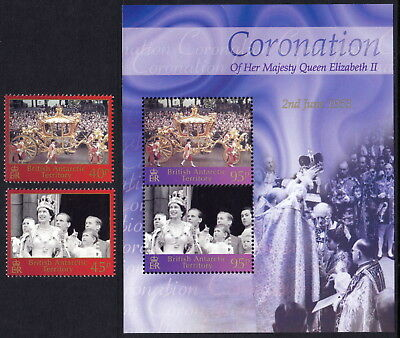 British Antarctic Territory 2003 Queen Elizabeth II Coronation 50th anniversary